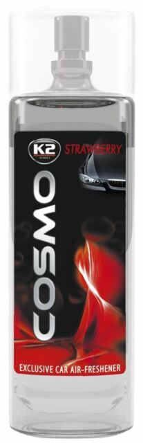 K2 COSMO STRAWBERRY car air freshener EV206 50ml NEW!
