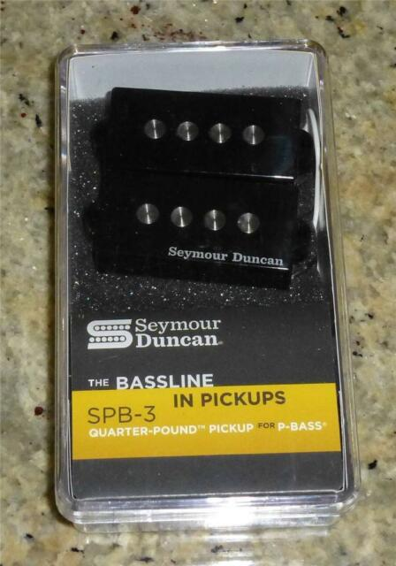 Seymour Duncan SPB-3 Quarter Pound Hot Pickup for P Precision Bass - Fender
