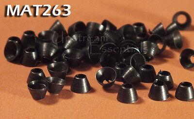 "Nickel Brass Beads for Fly Tying 1//8/"" 3mm 50 pkg MAT226"