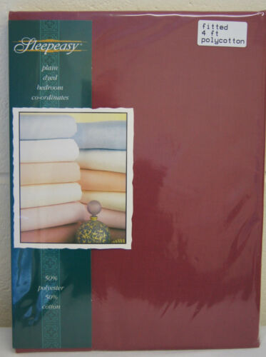 4ft fitted sheets  15 colours all uk made