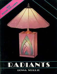 RADIANTS Stained Glass Lamp Pattern Book, Books, Lights, Shades