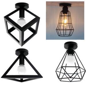 Vintage-Edison-Industrial-Loft-Ceiling-Pendant-Light-Cage-Lamp-Ceiling-Lights-UK