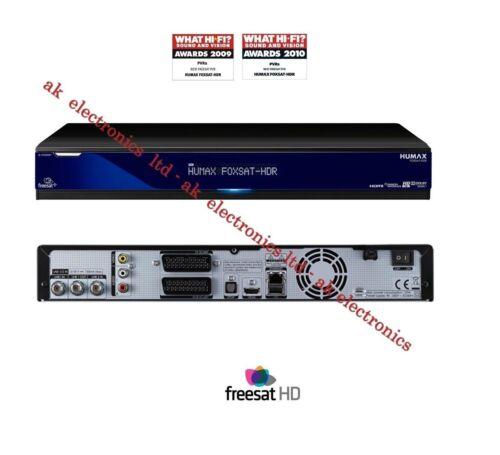 1 of 1 - Humax FOXSAT-HDR Twin Tuner Freesat HD Receiver Box 500GB HDD PVR Recorder HDMI