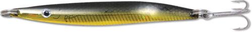 11cm für Meerforelle Dorsch Hornhecht usw. 25g Black Gold Impact Blinker