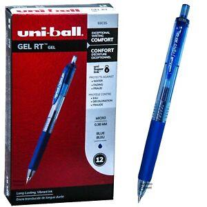 0.7mm UNI-BALL Singo-307 BLACK Retractable Gel Pen Soft Rubber Grip Fine Writing