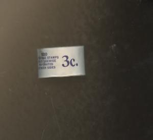 THOMAS JEFFERSON U.S. #842 3¢ Jefferson 1939 COIL COMPLETE ROLL STAMPS