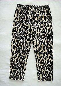 23203cb6b8bae1 Image is loading Girls-Kids-baby-Children-Leopard-Print-Chopped-Costume-