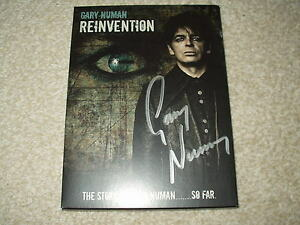 GARY NUMAN REINVENTION DVD NEW AND SIGNED - <span itemprop=availableAtOrFrom>Braintree, Essex, United Kingdom</span> - GARY NUMAN REINVENTION DVD NEW AND SIGNED - Braintree, Essex, United Kingdom