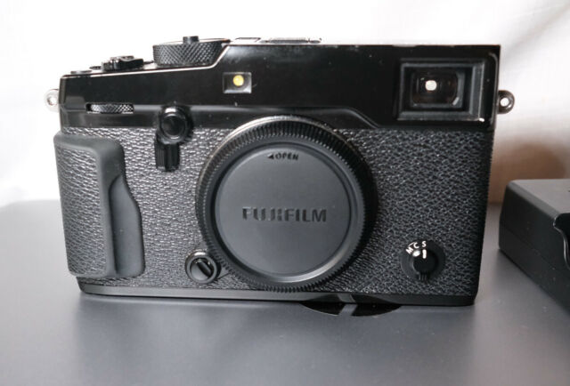 Fujifilm X-Pro2 24MP Mirrorless Digital Camera Body Only - Black