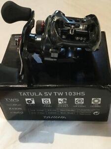 DAIWA TATULA SV TW 103HS 7.3:1 RIGHT HAND BAITCASTING FISHING REEL