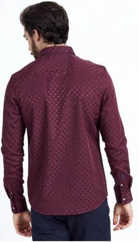 Mish Mash Monet Burgundy Shirt £14.99 rrp £50