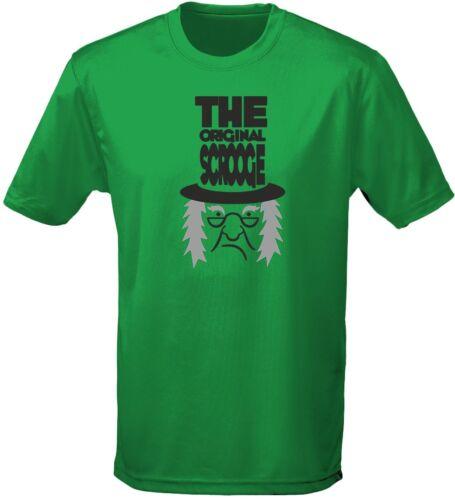 The Original Scrooge Costume Fancy Dress Halloween Kids Unisex T-Shirt 8 Colours