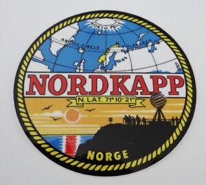 Bumper Stickers Nordkapp Nordkap Norge Norway Midsummer Caravan Motorcycle