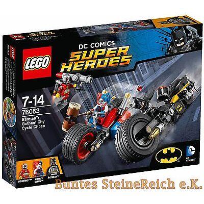 LEGO® SUPER HEROES: 76053 Batcycle-Verfolgungsjagd in Gotham NEU OVP 0.- Versand