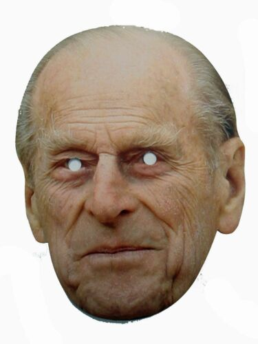 10 Prince Phillip Celebrity Face Masks Party Fancy Dress Stag  Accessories