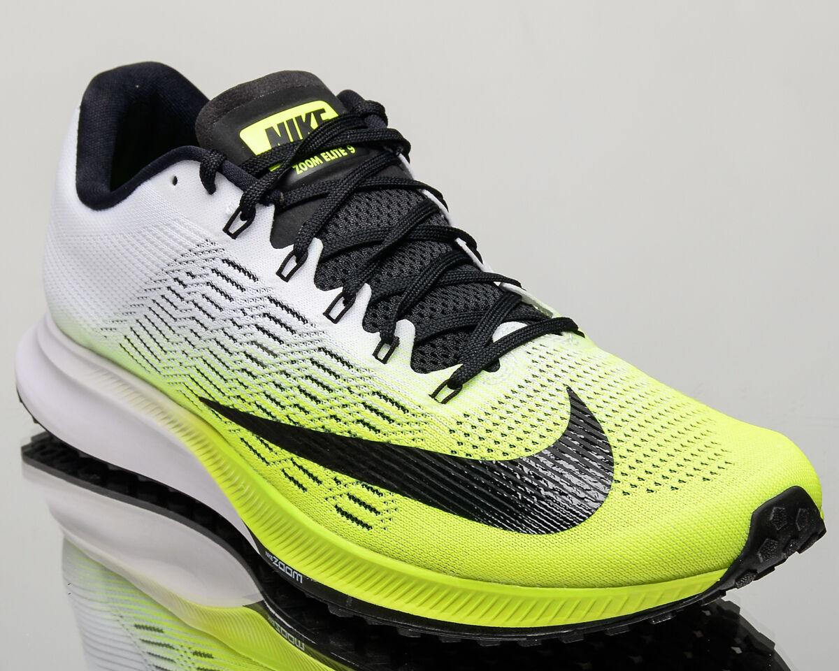 Nike air zoom elite 9 ix gli uomini correre correre le scarpe le scarpe nuove 863769-701 volt.