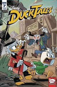DUCKTALES #7 COVER A GHIGLIONE IDW NM