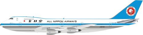 B747SRANA02P 1//200 ALL NIPPON AIRWAYS B747SR-81 JA8153 OSAKA EXPO 1990 W//STAND