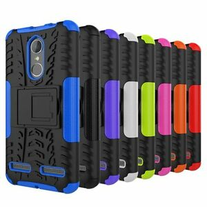 the latest 0ab92 aea59 Details about For Lenovo K6 / K6 Power Case Rugged Armor Hybrid Stand  Protective Phone Cover