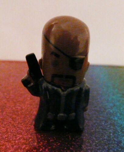 Marvel Avengers NICK FURY Chibis Mini Figure Mint Loose