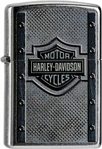 Zippo-Harley-Davidson-Lighter-Lighter-Benzin-Sturm-Feuerzeug