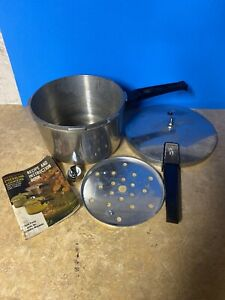 Vintage-Presto-4-Qt-Pressure-Cooker-A403A-w-Trivet-Lid-regulator-instructions
