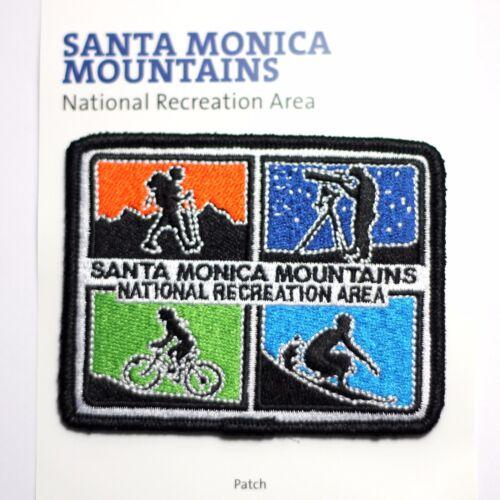 Santa Monica Mountains National Recreation Area Souvenir Patch California Park