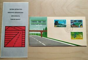 1983-Malaysia-Opening-of-East-West-Highway-FDC-Kuala-Lumpur-postmark-Lot-A