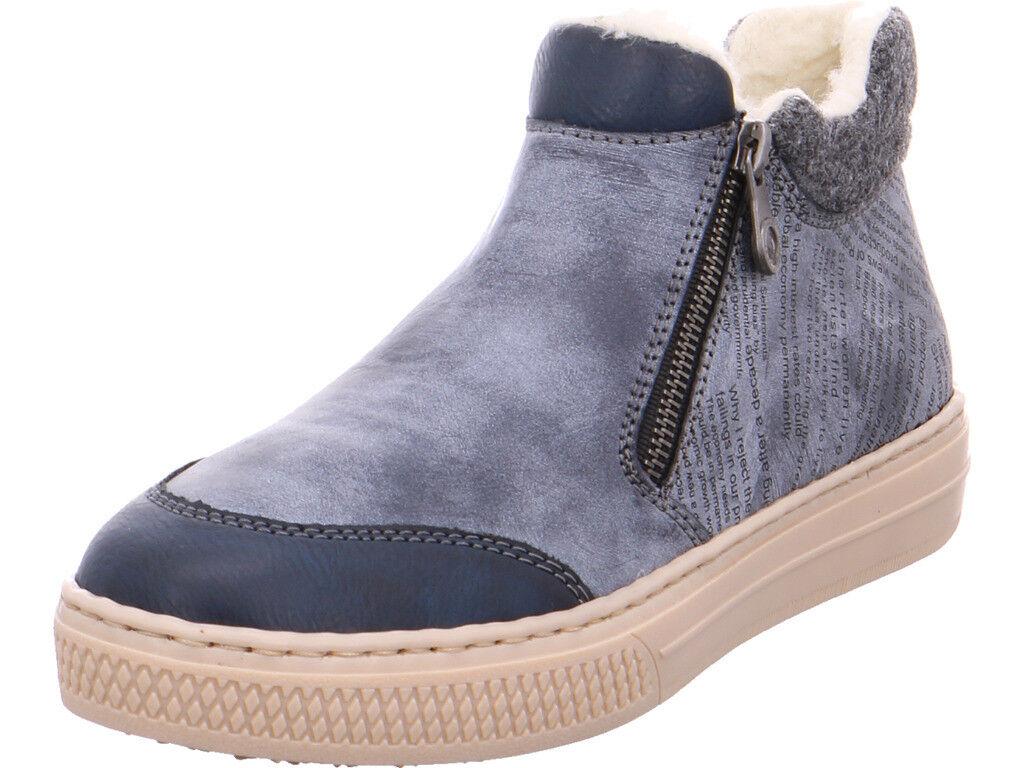 Rieker Damen  Stiefel blau