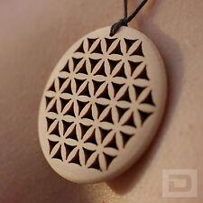 Flor de la vida remolque con cinta – madera zirbenholz zirbe amuleto amuleto