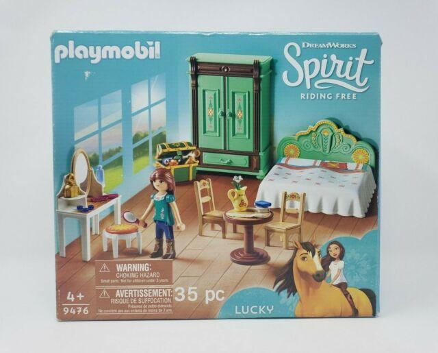 Playmobil 35 Piece Spirit Riding Free - Lucky's Bedroom #9476
