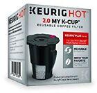 Keurig 119367 2.0 My K-Cup Reusable Coffee Filter Small Black Updated Model