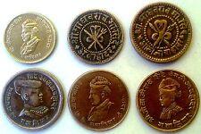 6  DIFF. GWALIOR STATE(1 BRASS+5 COPPER)  SUPER CONDITION COINS RARE COLLECTION