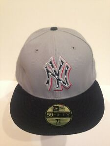 New York Yankees New Era 59FIFTY Stars   Stripes Hat Fitted Size 7 5 ... 2ebc8fb828b