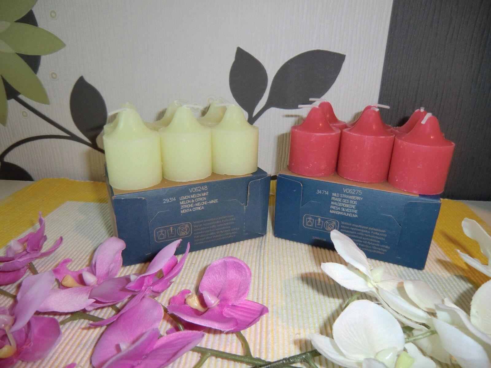 PartyLite Teelichter Heisse Maroni 12 TEELICHTER