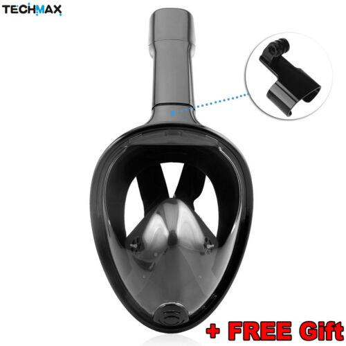 Seaview 180° Degree Panoramic Snorkeling Mask Full Face Anti-Fog Design S//M L//XL