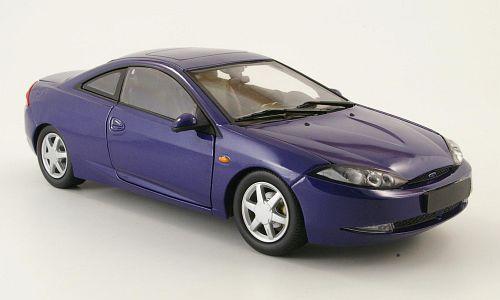 FORD COUGAR V6 1999 bleu METALLIC ACTION 1 18 MINICHAMPS 1 18 bleu BLEU