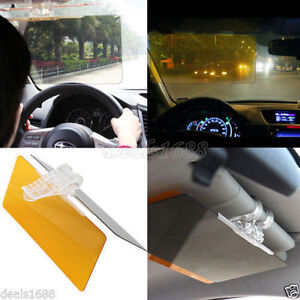 HD UV Anti-Glare Universal Auto Car Flip Down Shield Sun Visor Day ... 2c39f30cd8d