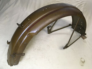 Harley-Davidson-OEM-3710-30-NOS-Rear-Fender-1929-33-DL-RL-45-Flathead-C-Single