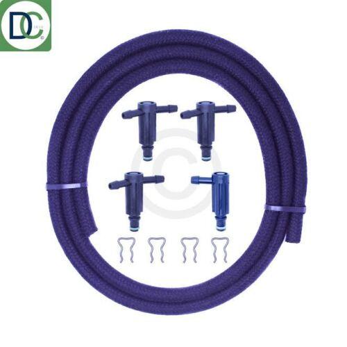 CITROEN 1.6 HDi INYECTOR Fugas De Conector Kit Para Bosch Inyectores