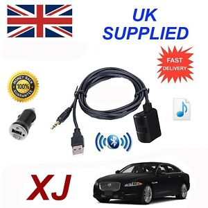 For-Jaguar-XJ-Bluetooth-Music-Streaming-Module-includes-power-adapter-USB-amp-AUX