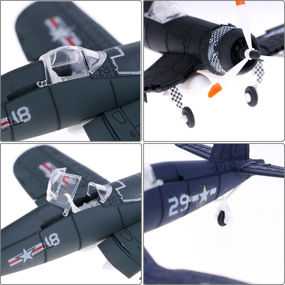 1Pc 1//48 Scale assemble fighter model toys combat aircraft diecast war-II ZRSDE