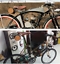 Vintage Leather Bicycle Saddle Tail Bag Pannier Bike Handlebar Bag Cycling Pouch