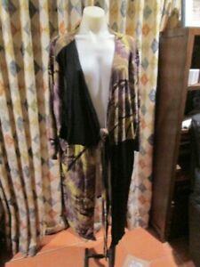 New! Womens Ts Taking Shape Dressy Style Long Drape Cardi Sz Xl 18-20-22 Attractive Appearance