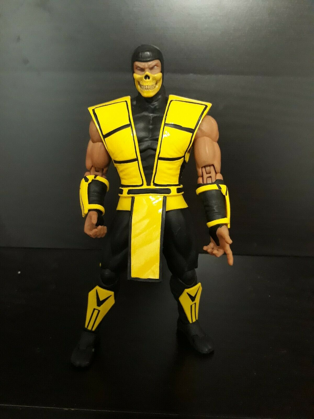 Storm Collectibles 112 Scale Mortal Kombat 2 Scorpion Loose US Seller