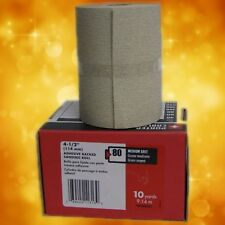 PORTER-CABLE 740002201 4 1//2-Inch x 10yd 220 Grit Adhesive-Backed Sanding Roll