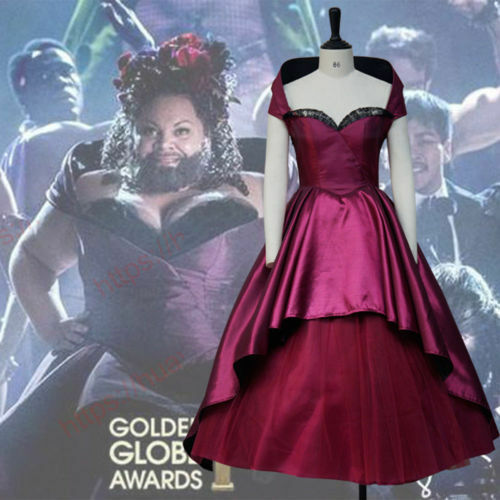 The Greatest Showman Lettie Lutz Bearded Lady Dress Cosplay Costume Masquerade