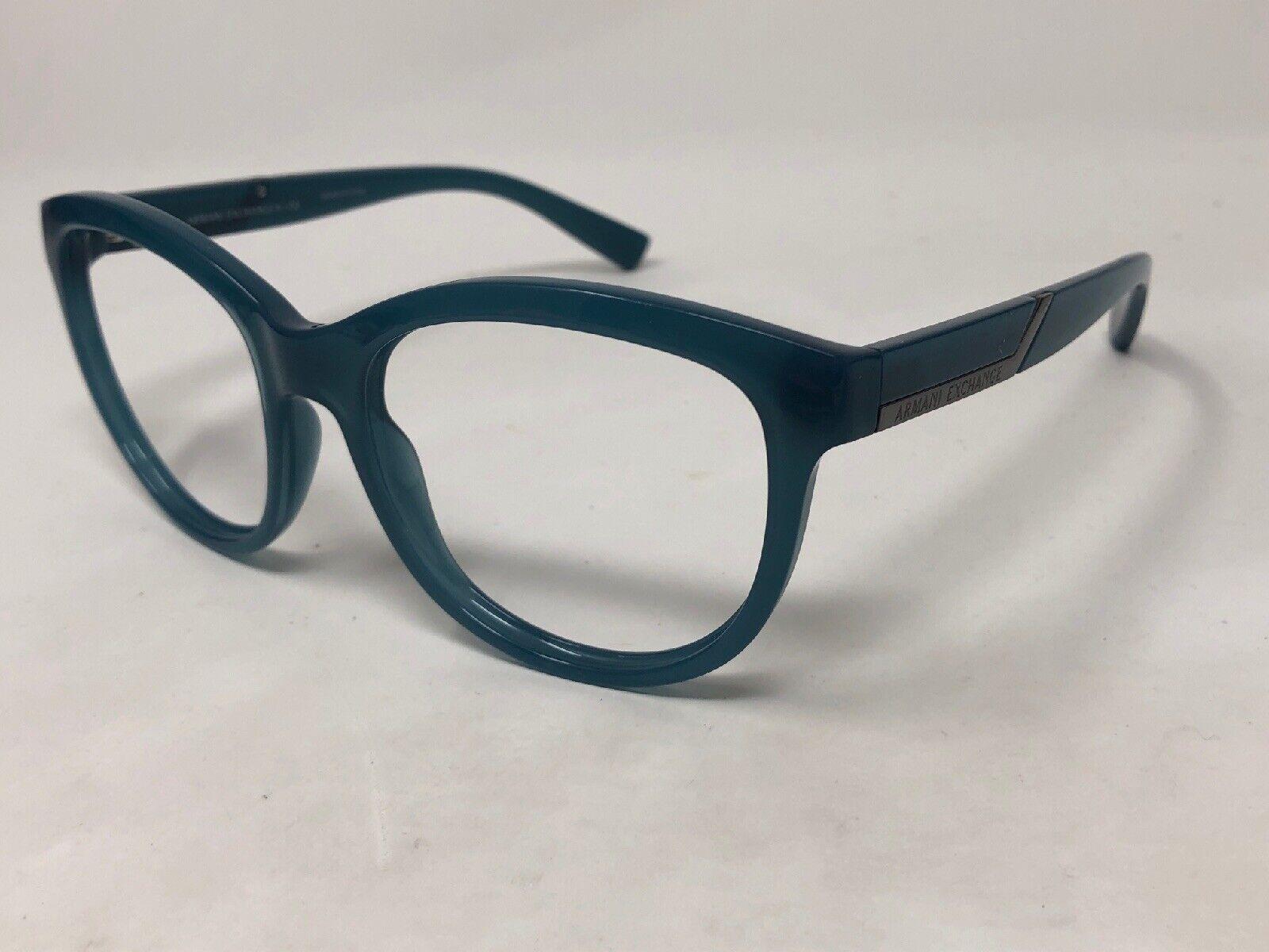 ARMANI EXCHANGE AX4051S 819011 Sunglasses Frame 55-18-140 Light Blue Clear HV87