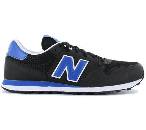 Classic 500 Nb Da Nuovo Ginnastica Sneaker Nere New Scarpe Balance Uomo Gm500ly Agq5w5