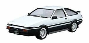 Aoshima-1-24-Toyota-AE86-Sprinter-Trueno-GT-APEX-039-85-Plastic-Model-Kit-NEW